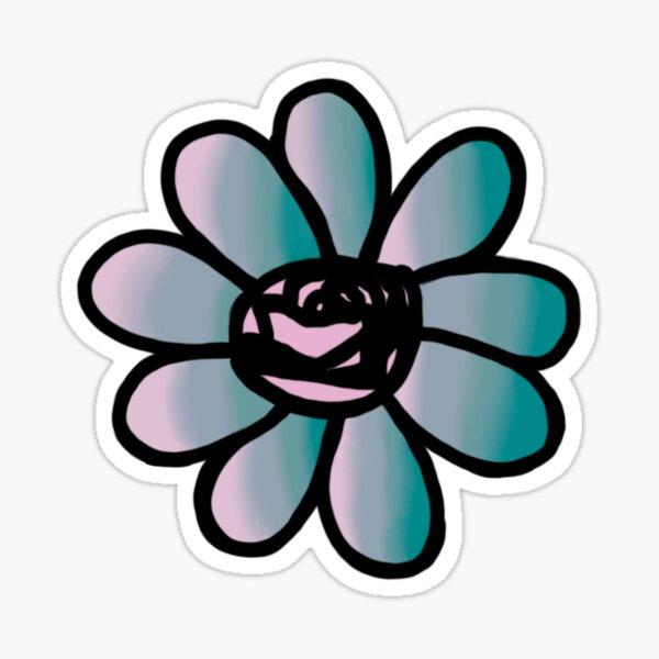 blooming flower lotus Sticker