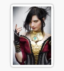 Morrigan Cosplay Sticker