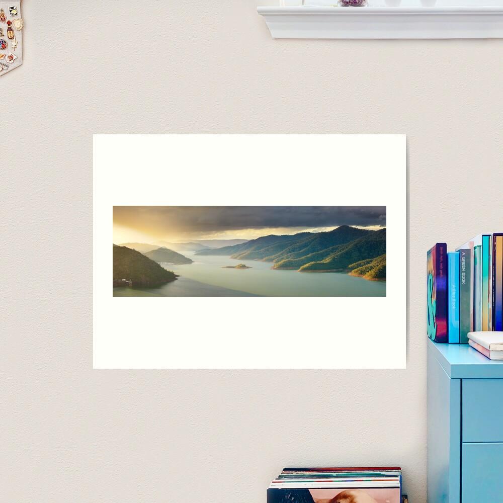 Lake Eildon, Victoria, Australia Art Print
