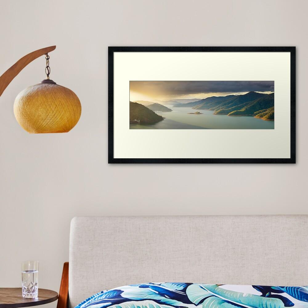 Lake Eildon, Victoria, Australia Framed Art Print