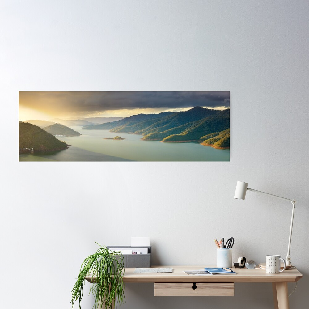 Lake Eildon, Victoria, Australia Poster