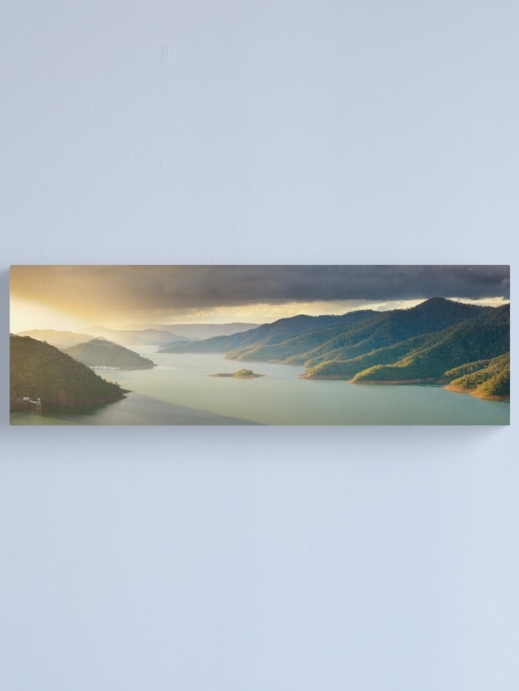 Alternate view of Lake Eildon, Victoria, Australia Canvas Print