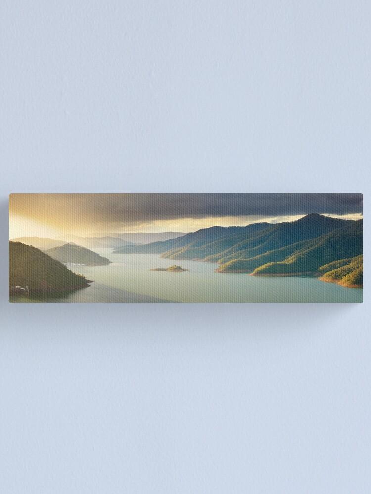 Alternate view of Lake Eildon, Victoria, Australia Canvas Print