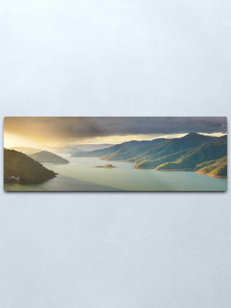 Alternate view of Lake Eildon, Victoria, Australia Metal Print
