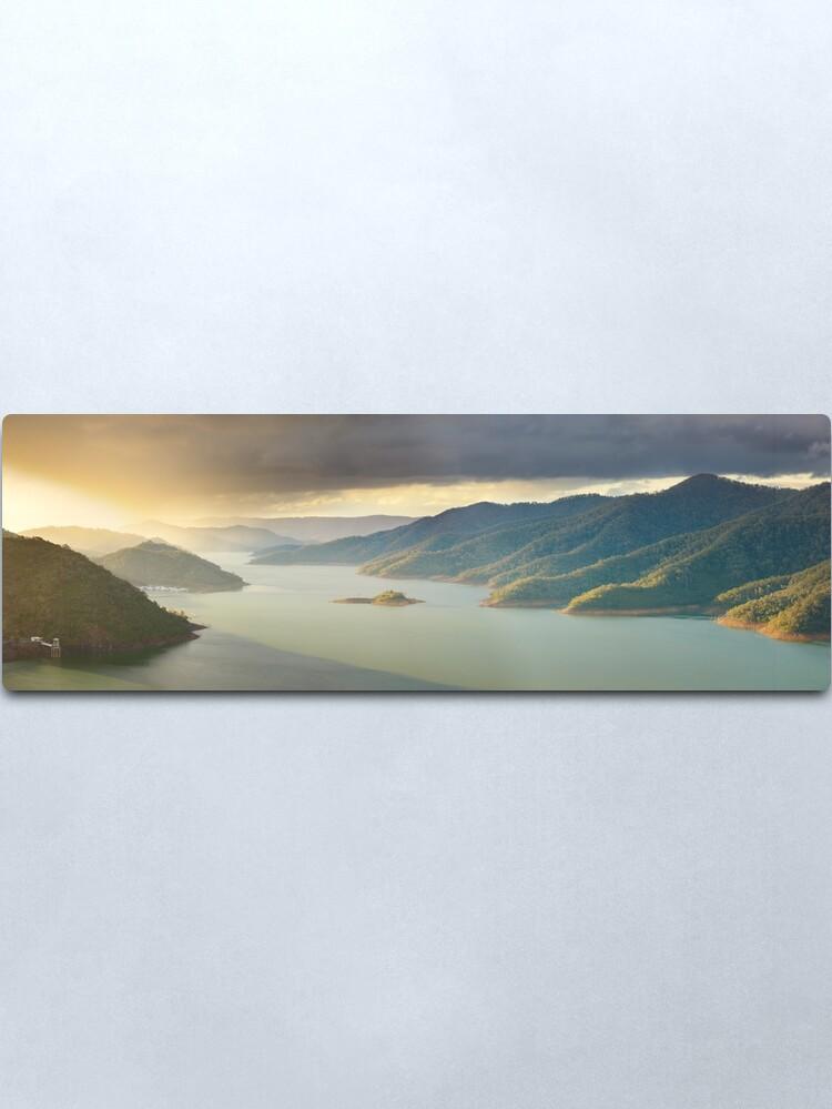 Alternate view of Lake Eildon, Victoria, Australia Metal Print