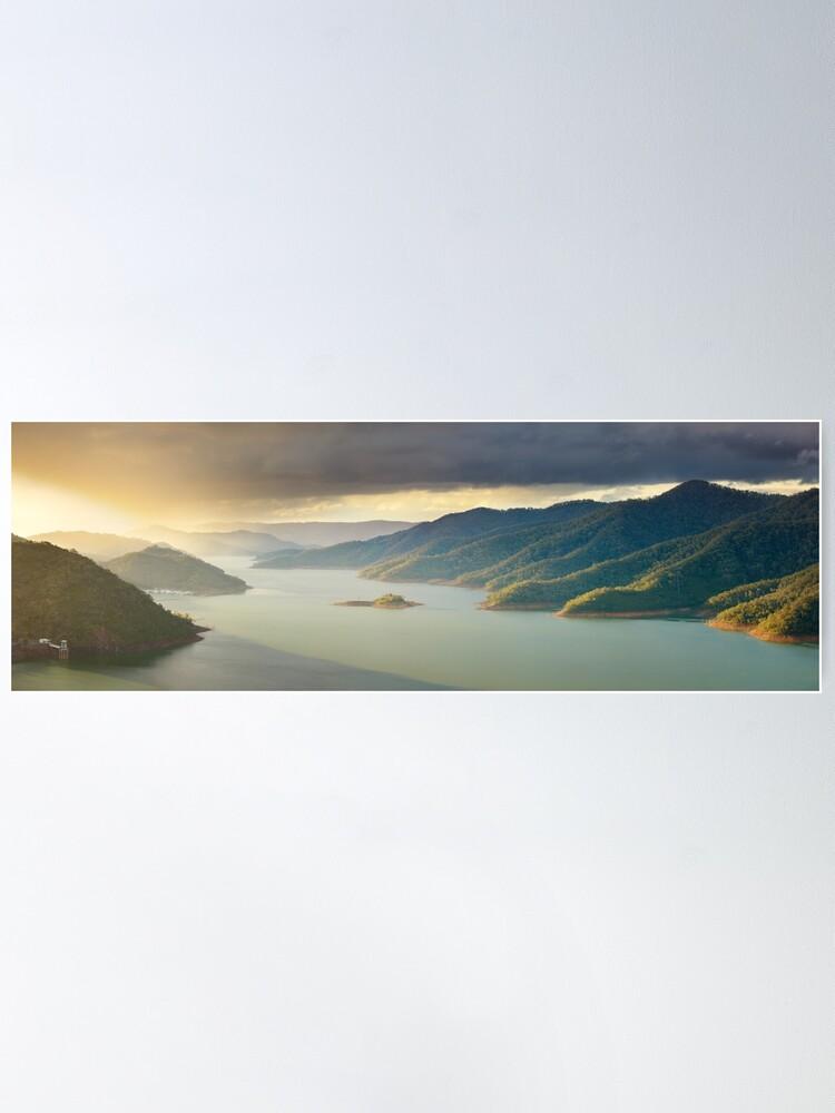 Alternate view of Lake Eildon, Victoria, Australia Poster