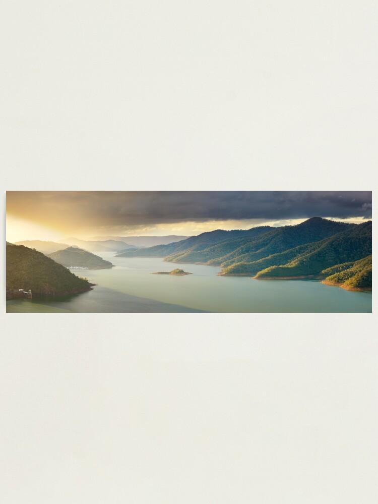 Alternate view of Lake Eildon, Victoria, Australia Photographic Print