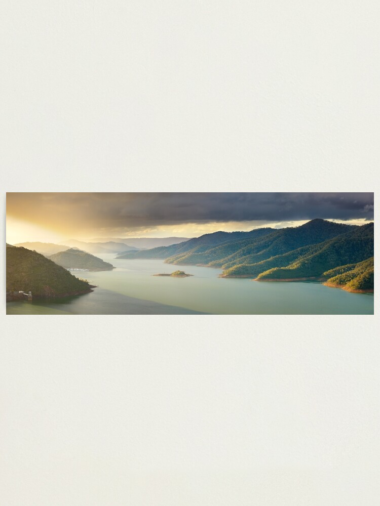 Alternate view of Lake Eildon, Victoria, Australia Photographic Print
