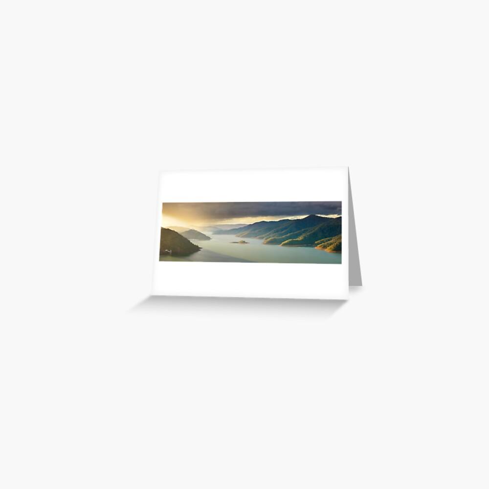 Lake Eildon, Victoria, Australia Greeting Card