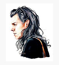 Mr curly styles Photographic Print