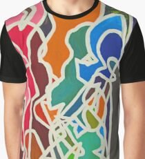 Silhouette Dance Graphic T-Shirt
