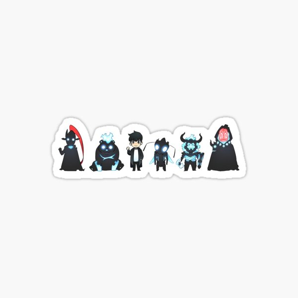 Solo Leveling Shadow Soldier Stickers  Sticker