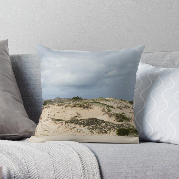 Stabilising Sand Throw Pillow