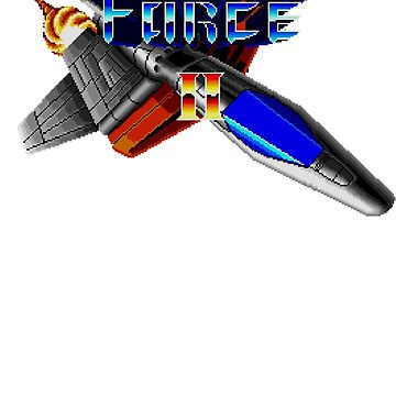 Thunder Force 2 (Genesis) Title Screen by AvalancheShirts