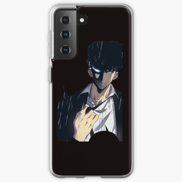 Sung Jin-Woo From Solo Leveling Samsung Galaxy Soft Case
