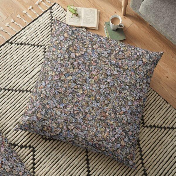 beautiful stones Floor Pillow