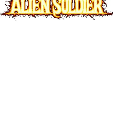Alien Soldier (Genesis) Title Screen by AvalancheShirts