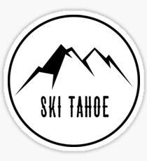 Ski Tahoe Sticker