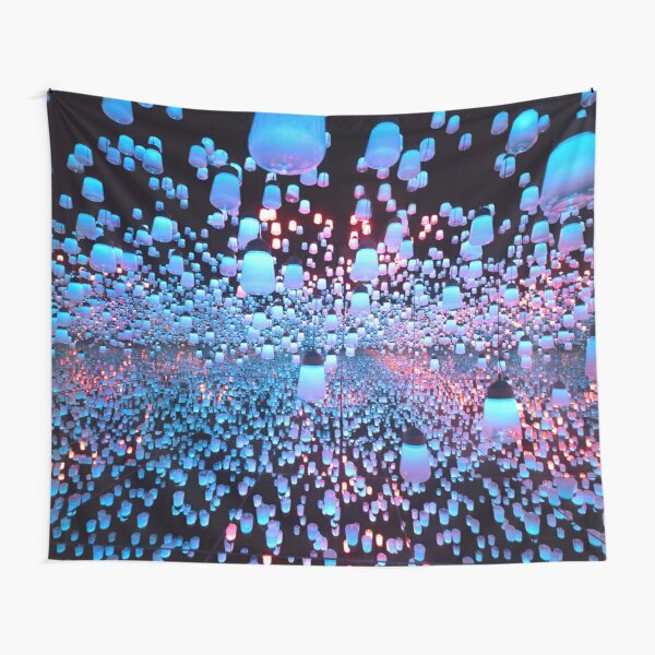 A World of Lanterns Tapestry
