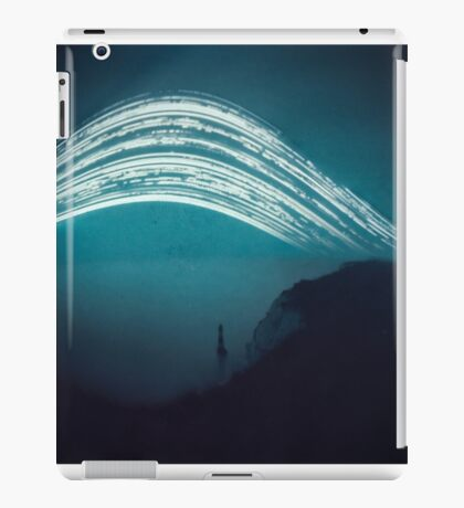 3 month exposure at Beachy head lighthouse UK iPad Case/Skin