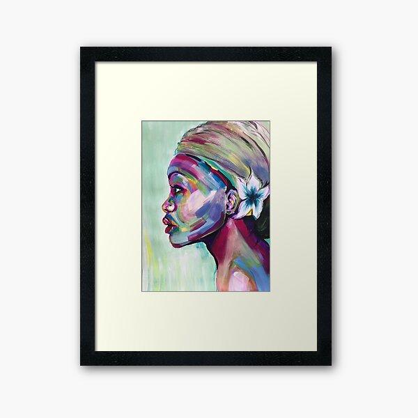 """""""Sylvia."""" Framed Art Print"""