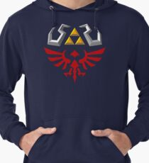 Hylian Shield - Skyward Sword Lightweight Hoodie