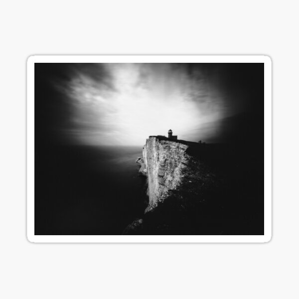 Belle Tout Lighthouse. Pinhole photo Sticker
