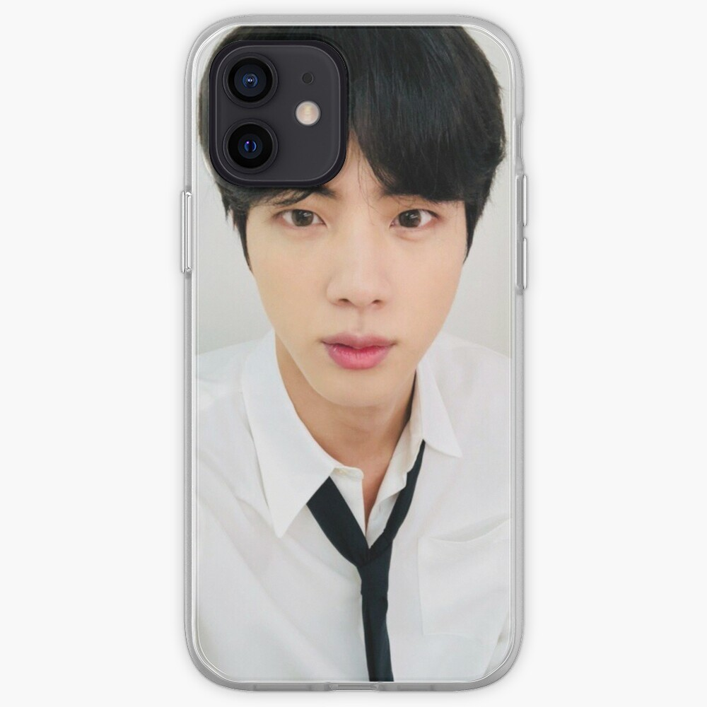BTS JIN SELCA 181122 (the cursed jin cup) iPhone Case & Cover