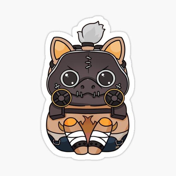 Chibi Kitty Roadhog Sticker