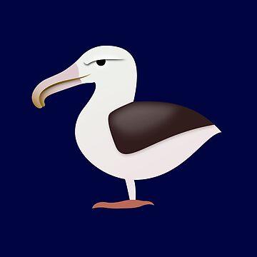 Wandering Albatross by mpriorpfeifer
