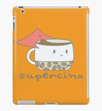 Supercino - your caffeinated hero iPad Case/Skin