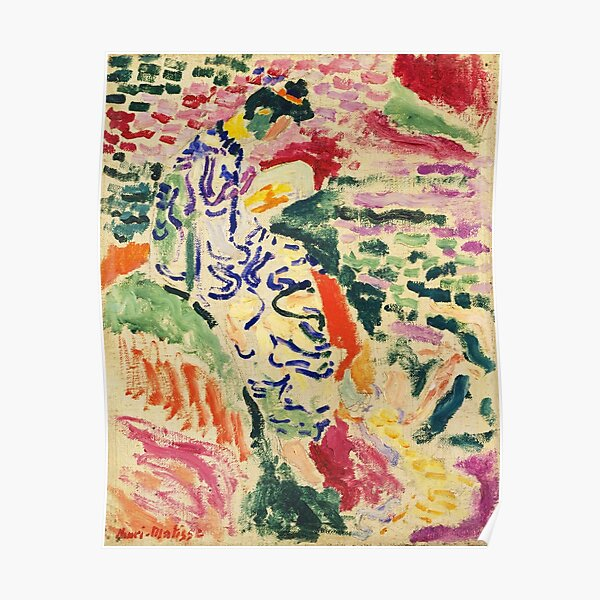 Woman Beside the Water by Henri Matisse Poster
