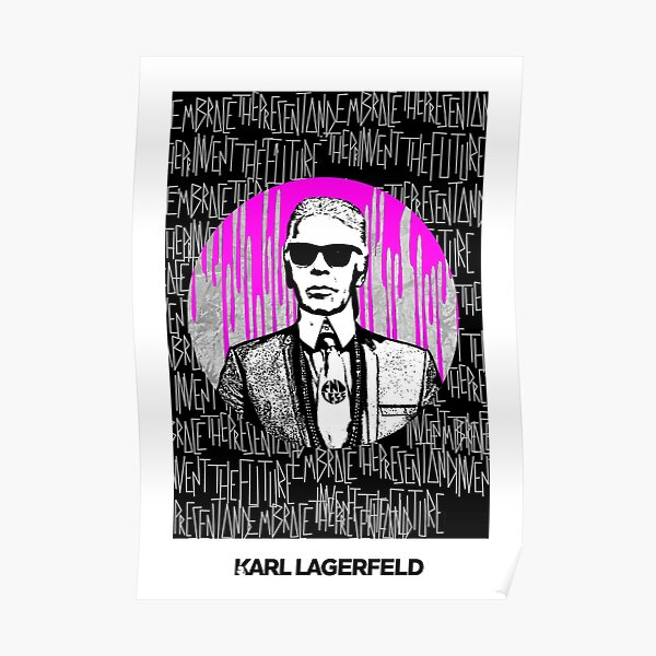 karl lagerfeld là ai Poster