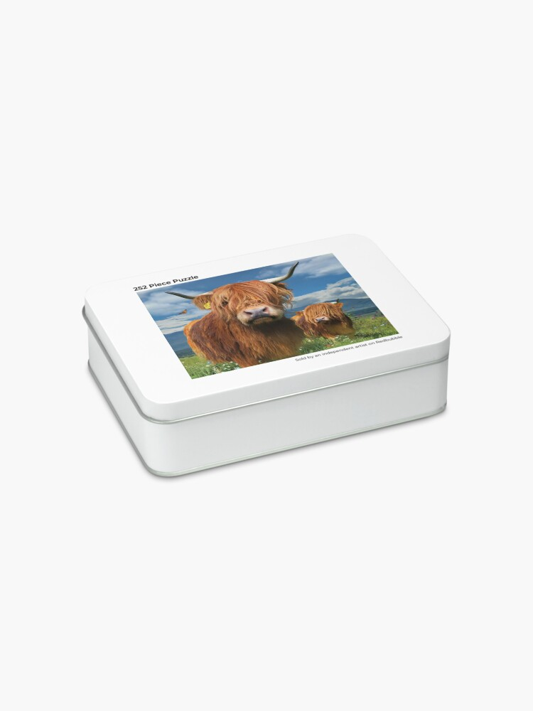 Alternate view of Highland Cattle Jigsaw Puzzle