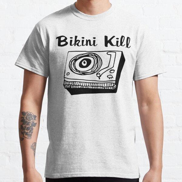 Bikini Kill Logo - Black Classic T-Shirt
