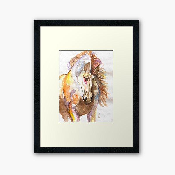 Wild Elegance (original water colour) Framed Art Print
