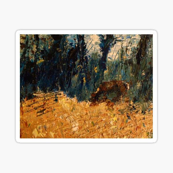 Deer in the Forest —Hannibal Sticker