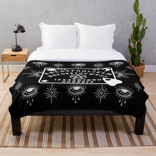 Mystical Spirit Board Cheeky Witch® Throw Blanket