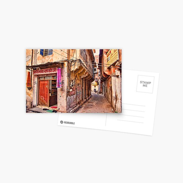 Down the Backstreets Postcard