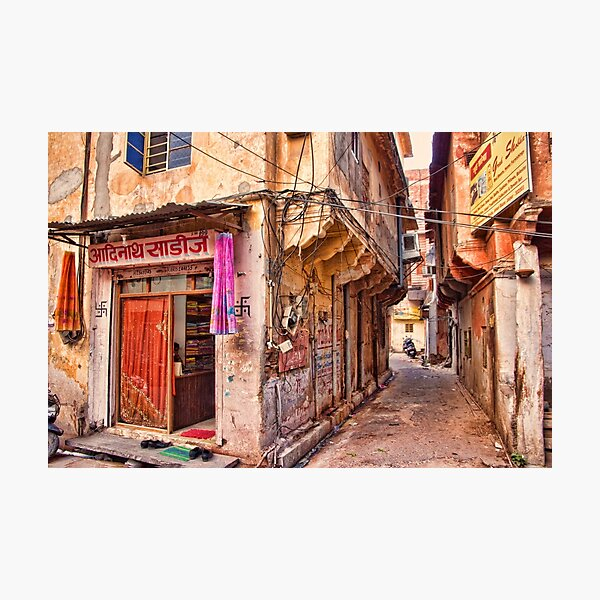 Down the Backstreets Photographic Print