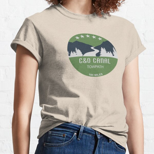 C&O Canal Towpath Classic T-Shirt