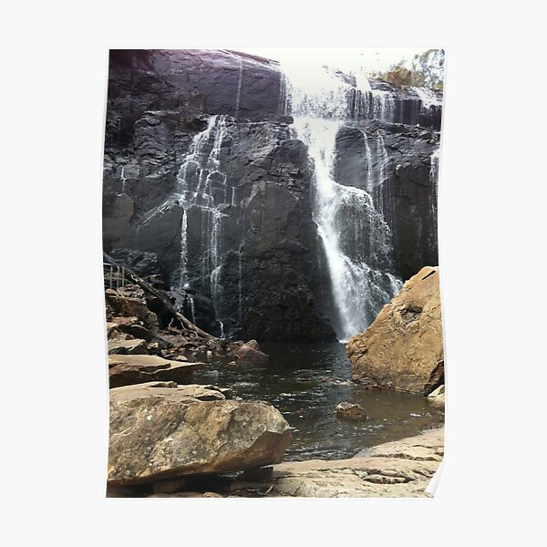 Grampian Waterfall MacKenzie Falls Victoria Australia Poster