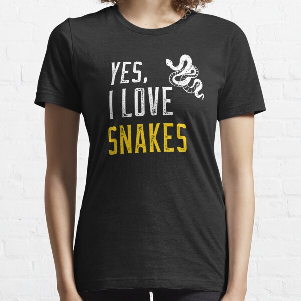 Yes, I love snakes Essential T-Shirt