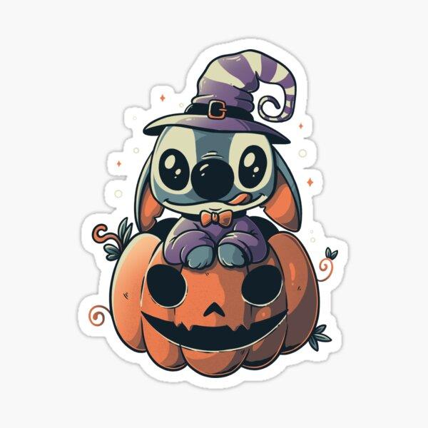 Ohana Pumpkin Funny Spooky Halloween Experiment - Light Sticker