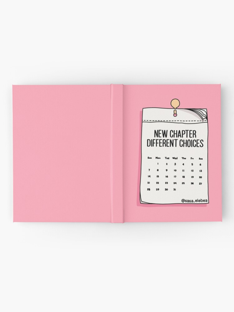Alternate view of New chapter by Sasa Elebea Hardcover Journal
