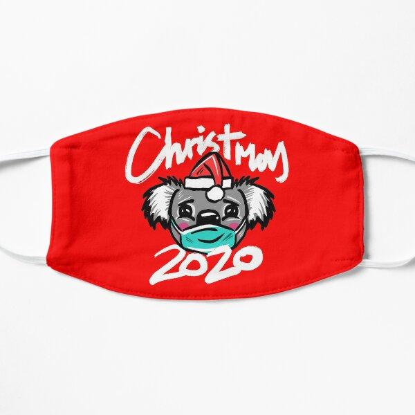 Australian Christmas 2020 T-Shirt, Christmas Koala Tee with Aussie Koala wearing a Face Mask and Christmas Hat, Funny Christmas Shirt for Aussies Mask