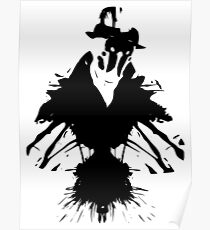 rorschach posters redbubble