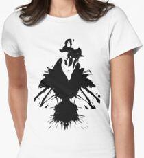 Camiseta entallada para mujer Rorschach