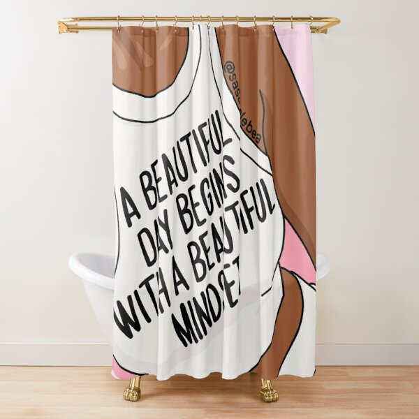 Beautiful day by Sasa Elebea Shower Curtain