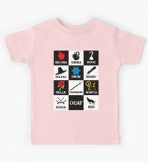 OUAT T-Shirt. Regina, Emma, Hook, Zelena, Snow, Henry, Belle, Charming, Rumple, Robin, Red Kids Clothes